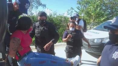Photo of Retiran a elementos que contuvieron a manifestantes en Isla Mujeres