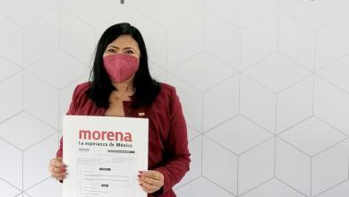 Photo of @MildredAvilaVer se registra al proceso de selección de candidaturas de Morena