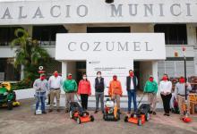 Photo of Entregan nuevo equipamiento a la Dirección de Servicios Públicos de Cozumel