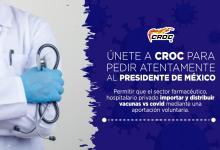 Photo of Llama la CROC a liberar la vacuna contra el covid-19