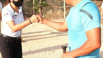 Photo of Impulsar el deporte en Cancún, propone @LauFdzOficial espacios deportivos mejor equipados
