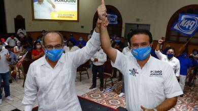 Photo of @PedroJoaquinD la opción en Cozumel: Felipe Calderón