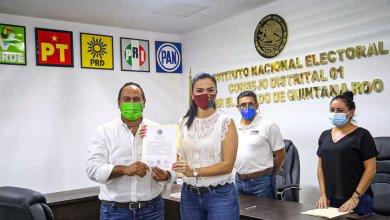 Photo of Recibe @juancarrillo58 constancia como candidato electo