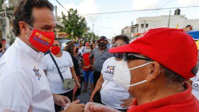 Photo of Vecinos de la colonia San Gervasio en Cozumel apoyan a @PedroJoaquinD