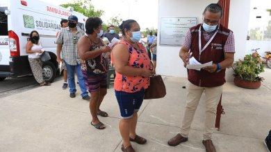 Photo of Se aplica la segunda dosis de la vacuna Covid-19 en Solidaridad a adultos con más de 50 años