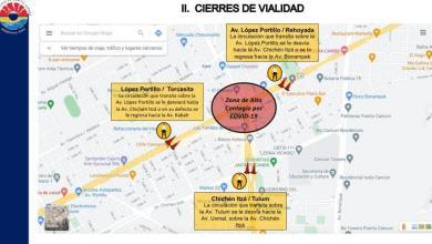 Photo of Mantienen cierre de vialidades para prevenir contagios en Cancún