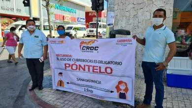 Photo of Refuerza CROC medidas sanitarias en Playa del Carmen