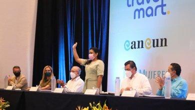 """Photo of Asiste Blanca Merari a la inauguración del """"Cancún Travel Mart México Summit 2021"""""""
