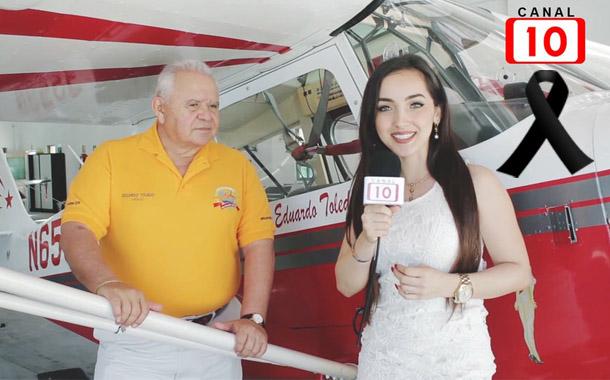 FALLECIÓ EL CAPITÁN EDUARDO TOLEDO DURANTE PRÁCTICA DEL AEROSHOW 2017