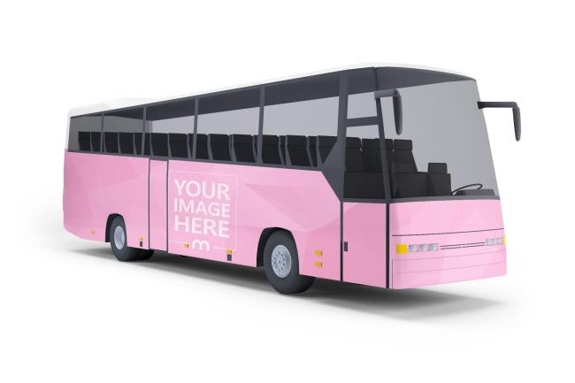 3d bus online mockup generator mediamodifier