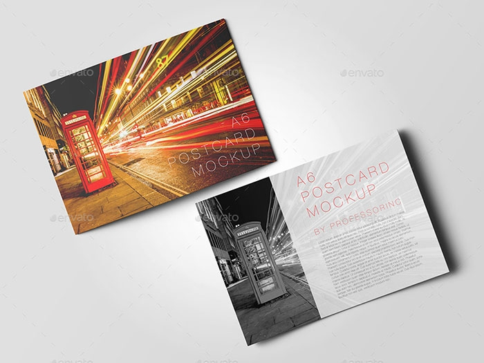 57 best postcard mockups psd vector free premium download