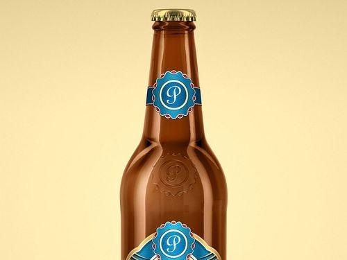 beer bottle mockup search muzli