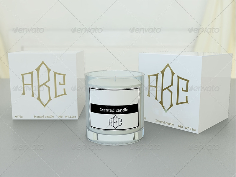 candle and gift box mock up sanchi477 graphicriver