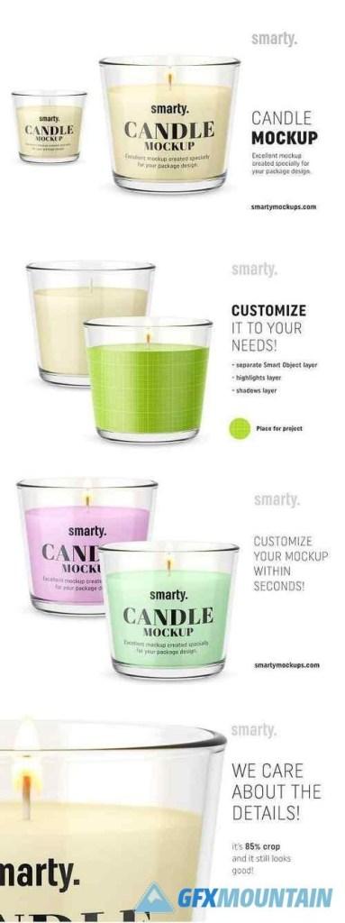 candle mockup 3450996 uxfree