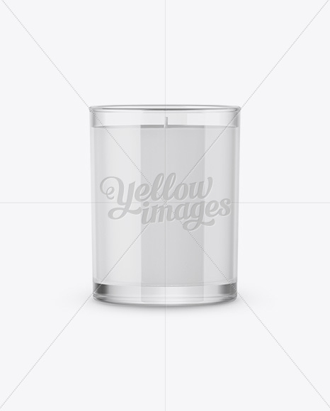 candle mockup in object mockups on yellow images object mockups