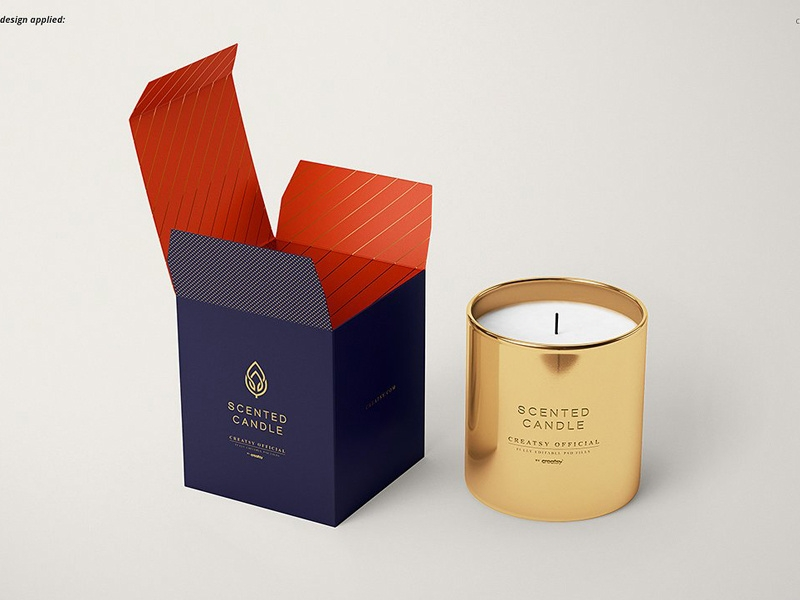 candle mockup set v3 mockup5 on dribbble