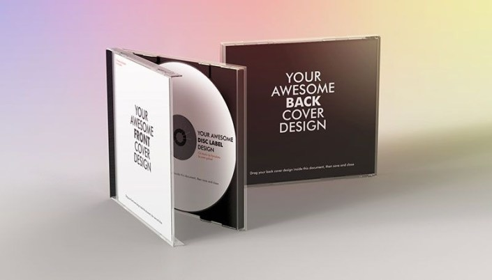 cd case mockup toha