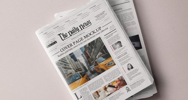 daily newspaper psd mockup psd mock up templates pixeden
