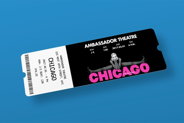 entry ticket mockup free psd download mockup