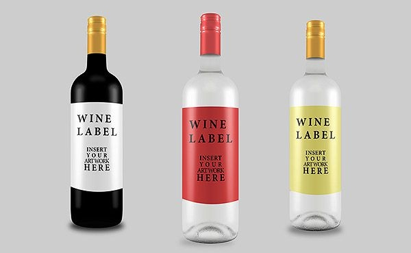 free psd wine bottle mockup for graphic designers antaras diary