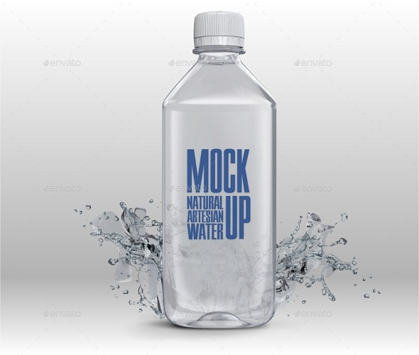free water bottle mockups