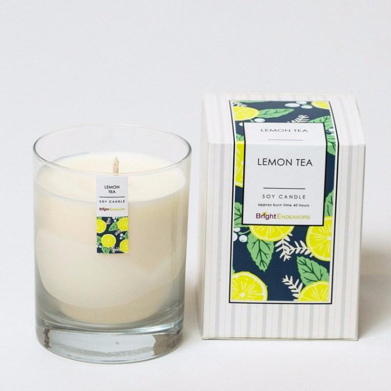 lemon tea bright endeavors