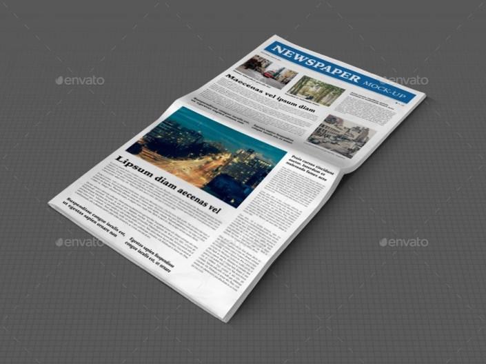 newspaper mock up srvalle graphicriver