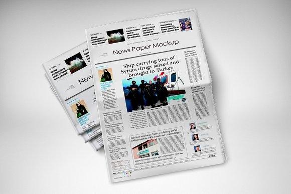 newspaper mockup mockup store