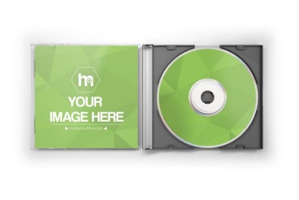open cddvd jewel case mockup generator sharetemplates