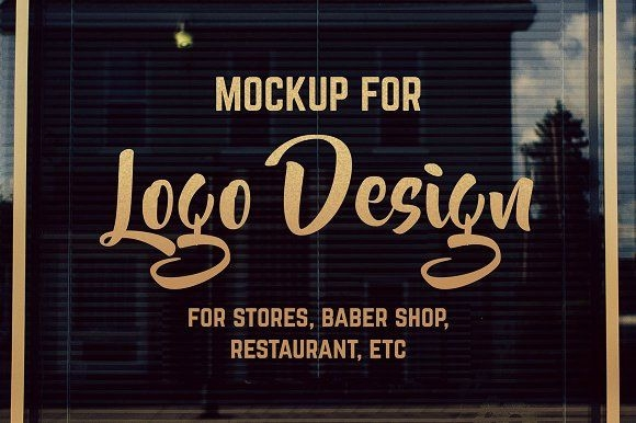 storefront window logo mockup riopurba collection on