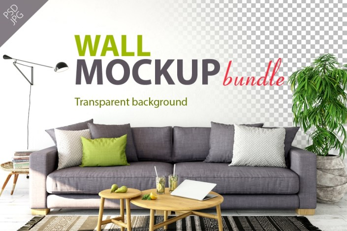 wall mockup bundle vol 1 a collection of ready to use mockups to