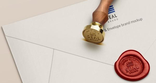 best mockup wax seal stamp images on designspiration