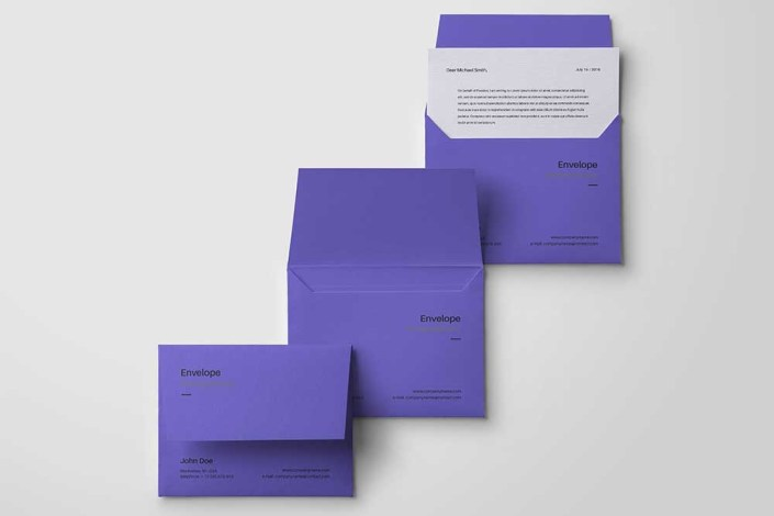 download this free download envelope psd mockup designhooks