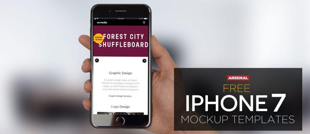 free iphone 7 mockup
