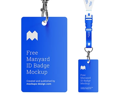 free lanyard mockup on behance