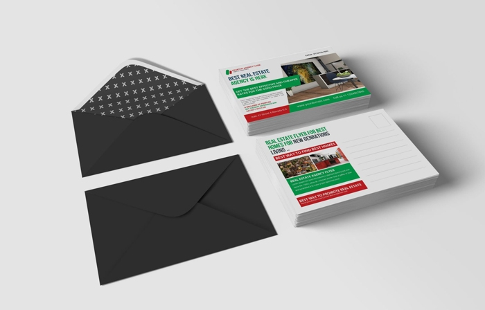 get a postcard mockup template out of this neat collection