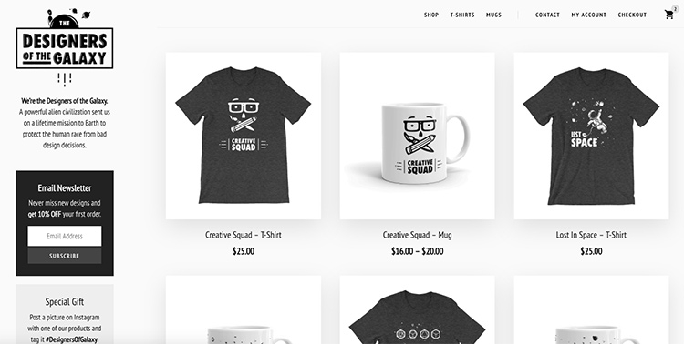 how i built my own online t shirt store rafal tomal