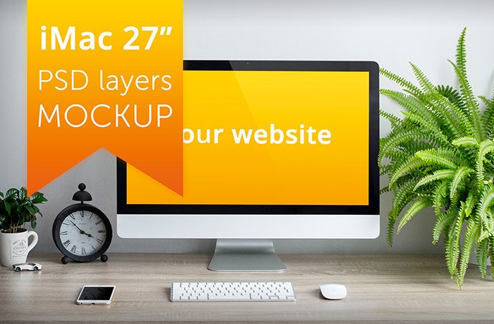 imac mockup collection free and premium computer mockups psd