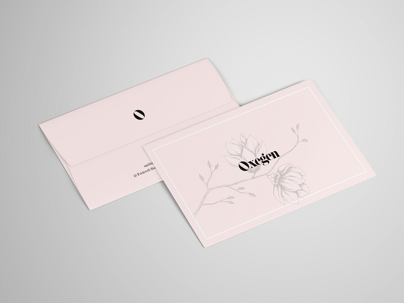 letter and envelope mockup psd graphic pear on dribbble
