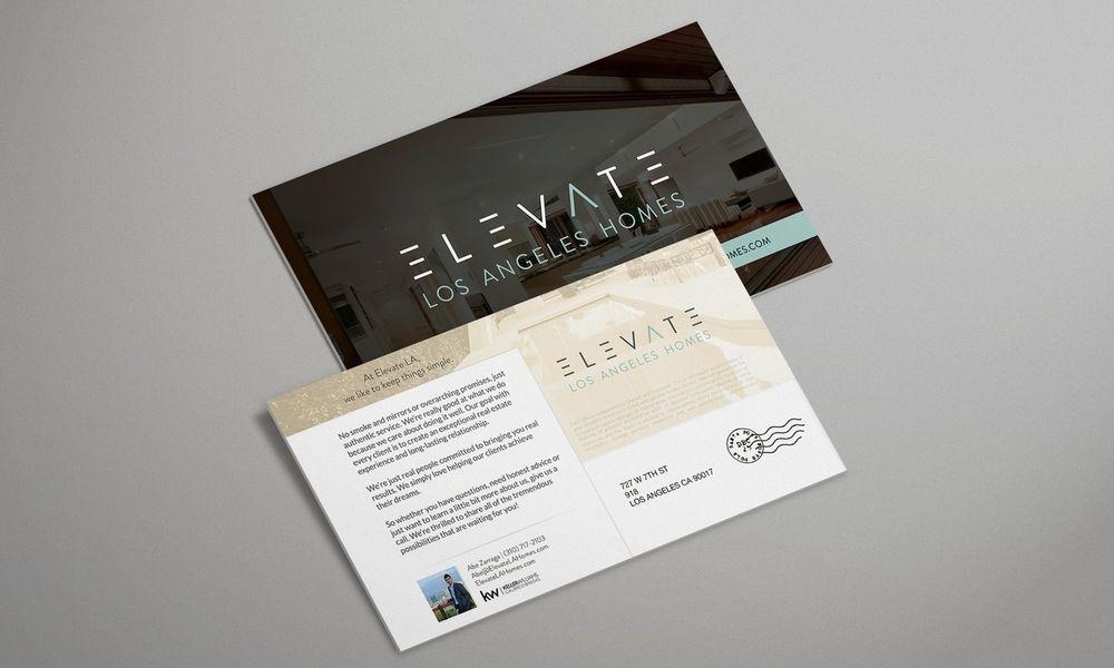 postcards mockup real estate mktg postcard mockup web design