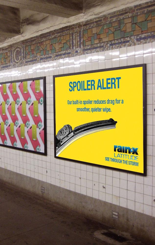 rain x subway ad mock up jen blair design