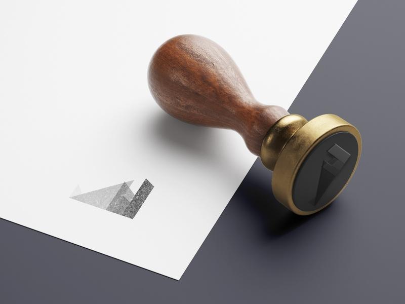 robles construction stamp mockup aditya golechha on dribbble