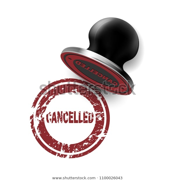 rubber stamp mockup your design cancelled stock vector royalty free