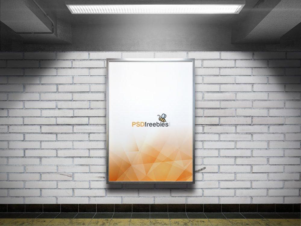 50 Subway Ad Mockup Advertising Billboard Design Candacefaber