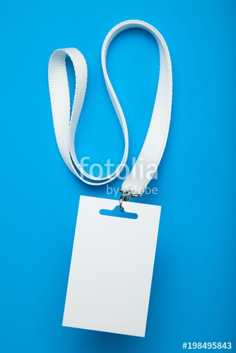 vip badge mockup event access with lanyard stock photo and