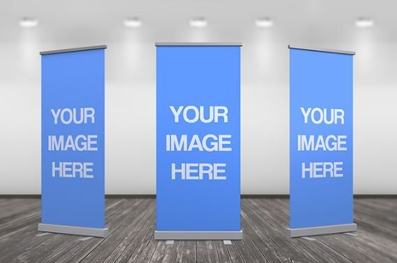 3d up banner ad online mockup template sharetemplates