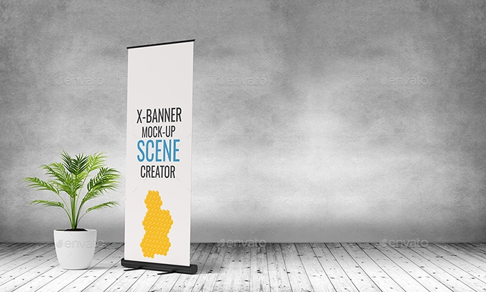 49 best roll up banner mockups and templates 2018