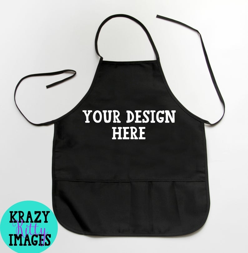apron mockup blank apron template black apron mock up chef mockup apron flat lay template svg 2 pocket apron mockup