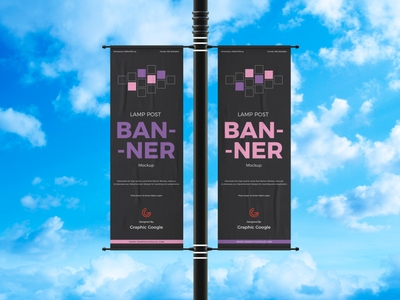 banner mockup designs themes templates and downloadable