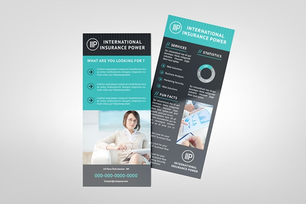 business rack card template on behance